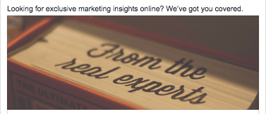 exclusive marketing insights