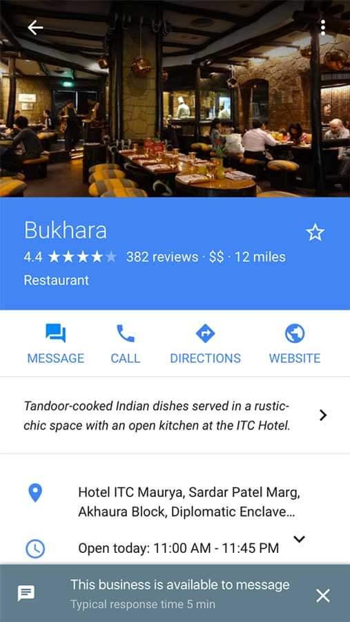 google-business-mesaging