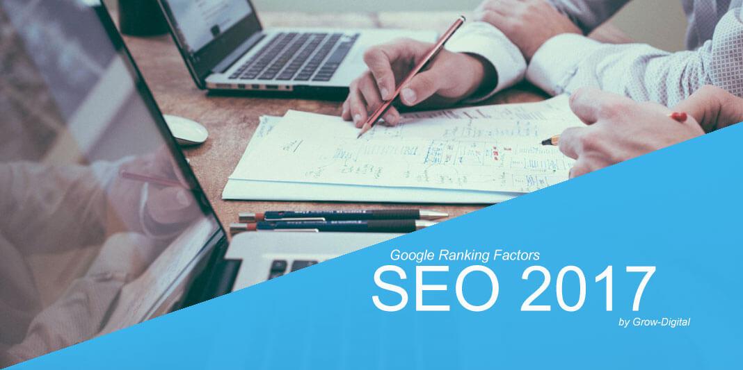 Ranking Factors της Google για το 2017