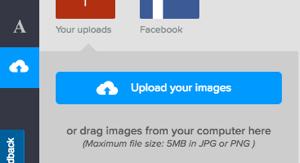 Ανέβασε την Εικόνα σου στο DesignBold