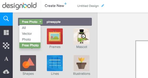 Ψάξε για FreeΕικόνες στο DesignBold