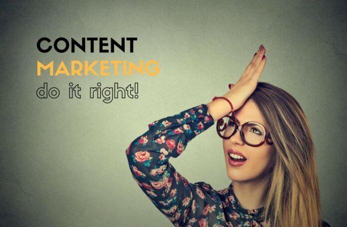 Λάθη στο Content Marketing που δεν πρέπει να κάνεις