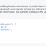 Facebook Pixel Advanced View Content