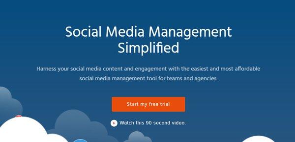 Agora Pulse social media management εργαλείο
