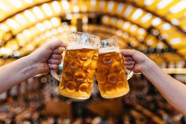beer clink