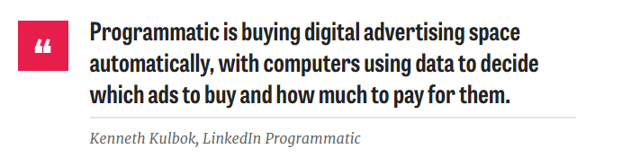 programmatic advertising quotes