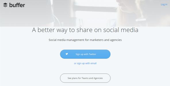 Buffer social media management εργαλείο