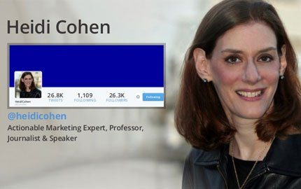 Digital Marketing Expert Heidi Cohen