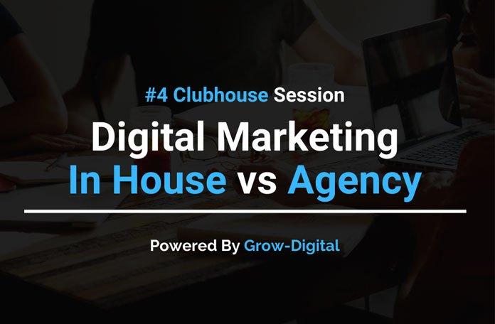 Digital Marketing vs Inhouse