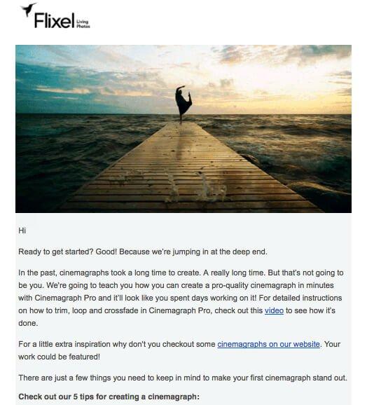 Δημιούργησε μια Σειρά από Εκπαιδευτικά Email