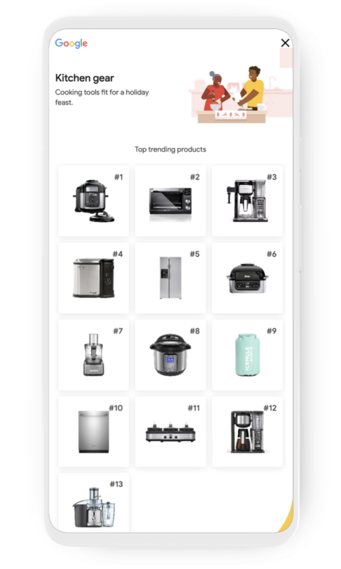 Η Google Λανσάρει Νέο Hub για τις Κορυφαίες Προϊοντικές Αναζητήσεις 3