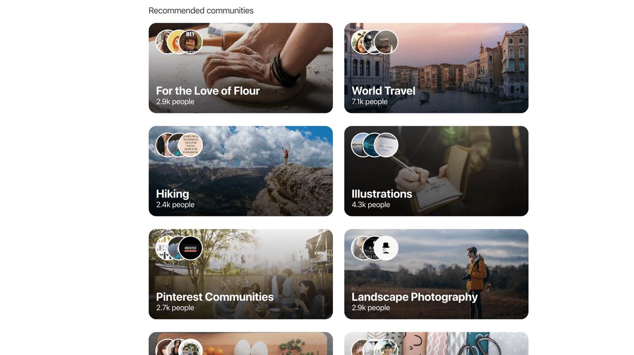 Pinterest Communities 1