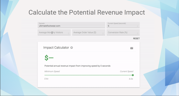 revenue impact calculator