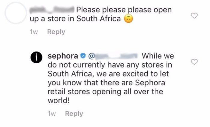 sephora community management example