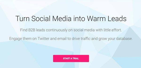 Socedo social media management εργαλείο