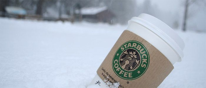 Starbucks campaign winter is here